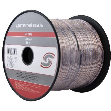 Акустический кабель BELSIS (SP2075 ) 25-014 - прозрачный - 0,75 mm - 1 бухта