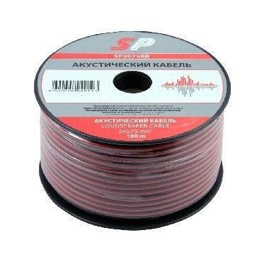 Акустический кабель BELSIS (SP2075RB) - красно-черный - 0,75 мм - 1 бухта