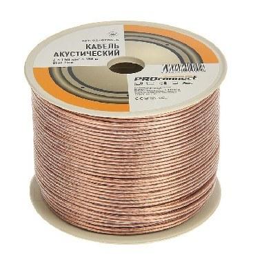 Акустический кабель PROCONNECT (01-6206-6) 2х1.50мм 100м - BL