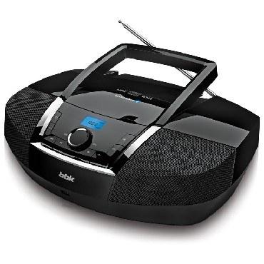 Аудиомагнитолы BBK BX519BT черный