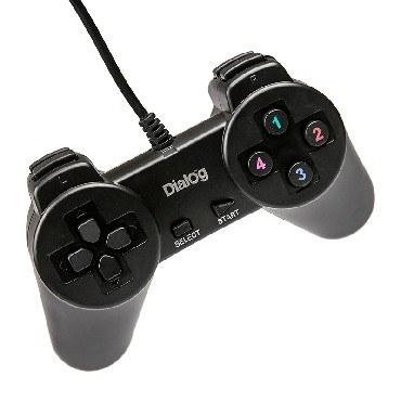 Геймпад DIALOG GP-A01 Action - 10 кнопок, USB, черный