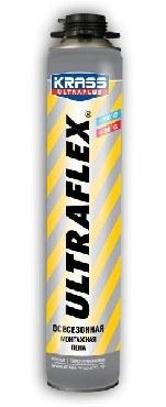 KRASS Пена монт ULTRAFLEX 65 Пистолетная Всесезонная 0,82л