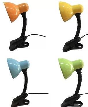 Лампа настольная REV 25050 0 Светильник прищепка 1хE27 MIX (оранж/зел/желт/гол)
