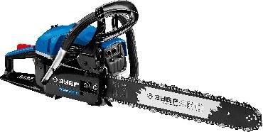 Пила цепная бензиновая, ЗУБР Профессионал ПБЦ-560 45ДП ЗУБР ПБЦ-560 45ДП Пила цепная бензиновая 2,4 кВт/ 3,3 л.с., 450 мм