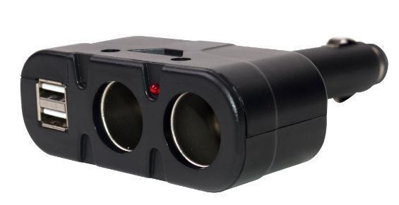 Разветвитель HARPER DP-033 разветвитель на 2 выхода + 2 USB