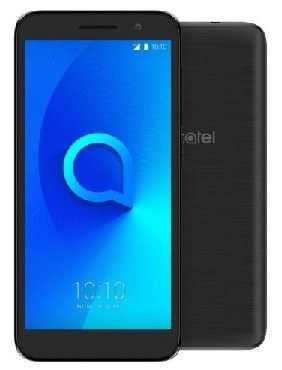 Смартфон ALCATEL OT 5033D(1) DUOS METALLIC BLACK