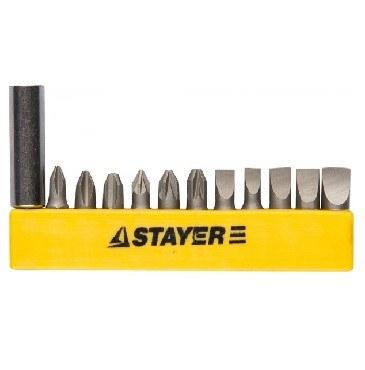 STAYER MASTER 2609-H12_z01 набор бит в держателе (уп.10шт)