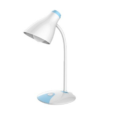 Светильник настольный SMARTBUY 3093-5W/WHITE-BLUE (SBL-3093-5-WBL-WHITE)