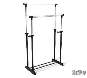 Вешалка SHEFFILTON SHT-WR4150 черный/черный муар/хром лак