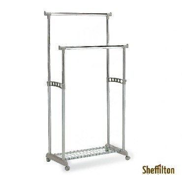 Вешалка SHEFFILTON Вешалка CH-4149 хром/серый