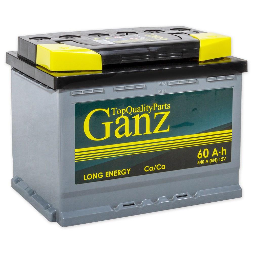 Аккумулятор GANZ 60 А/ч 242x175x190 EN540 GANZ GA601