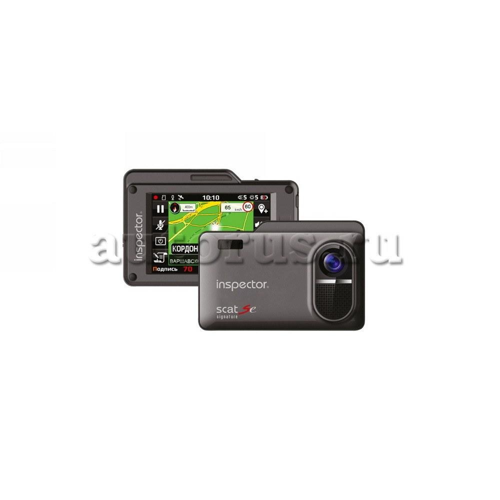 Антирадар с видеорегистратором INSPECTOR SCAT SE,eMAP, Super-HD, GPS, стрелка