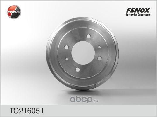 Барабан тормозной FENOX TO216051