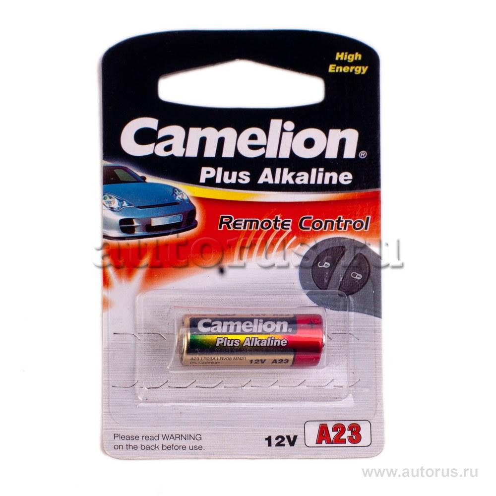Батарейка алкалиновая для сигнализации тип A23 12В 1шт Camelion Plus Alkaline LR23A-BP1