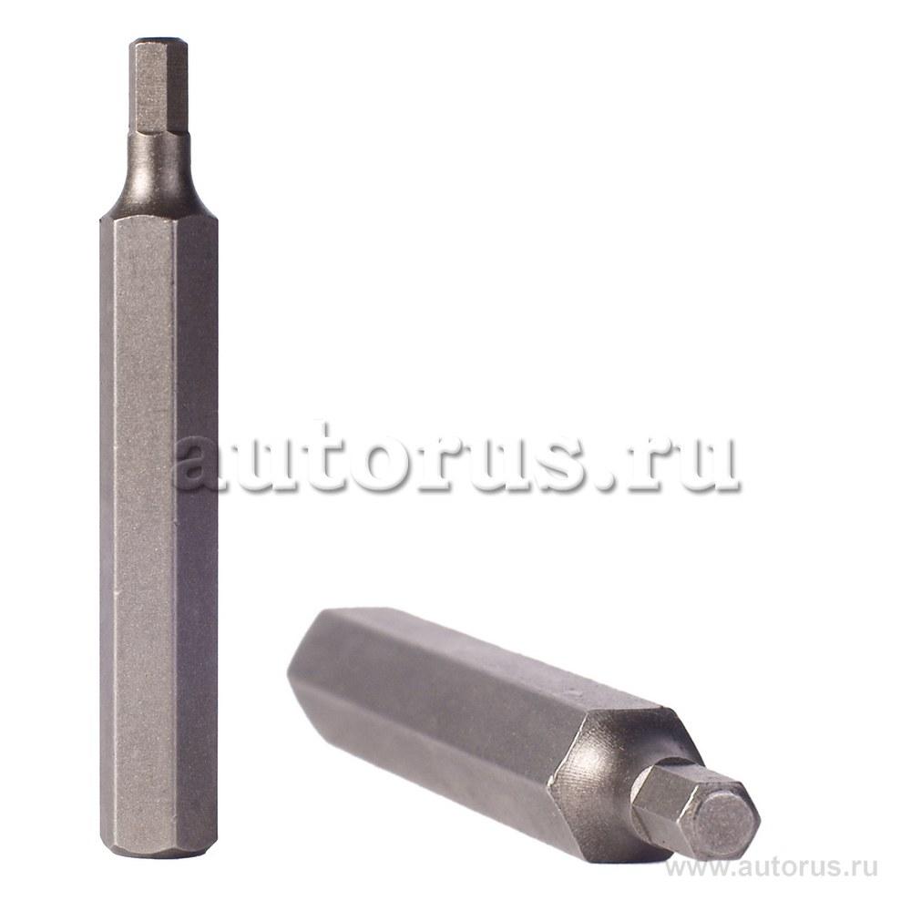 Бита HEX шестигранник 5мм L 75мм 1/2DR FORCE 1747505