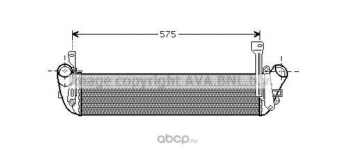 Интеркулер AVA RT 4346