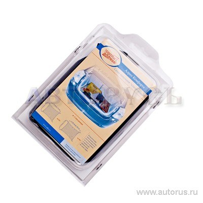 Сетка напольная в багажник автомобиля классическая 90x75 см. черная Comfort Address Set 004