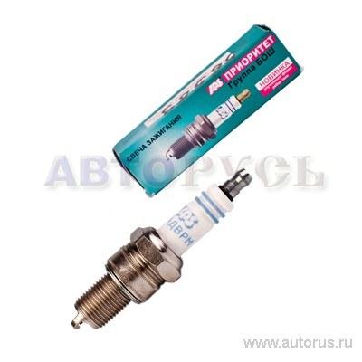 Свеча зажигания для а/м ГАЗ 406дв APS 1шт А14 ДВРМ 3.0.7 инд. упак. F01H7K0059HZ3