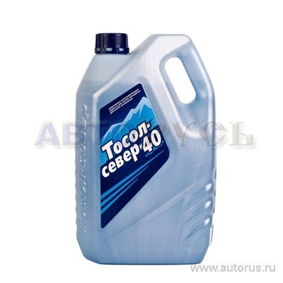 Тосол ГеленаХимАвто Север-40 готовый -40C синий 5 кг TS 20058
