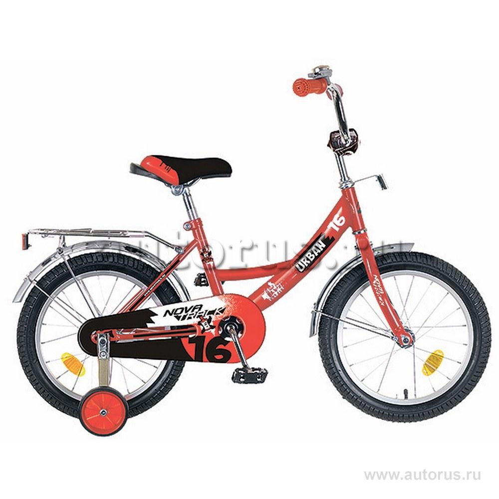 Велосипед 12 детский Novatrack Urban (2019) количество скоростей рама красный