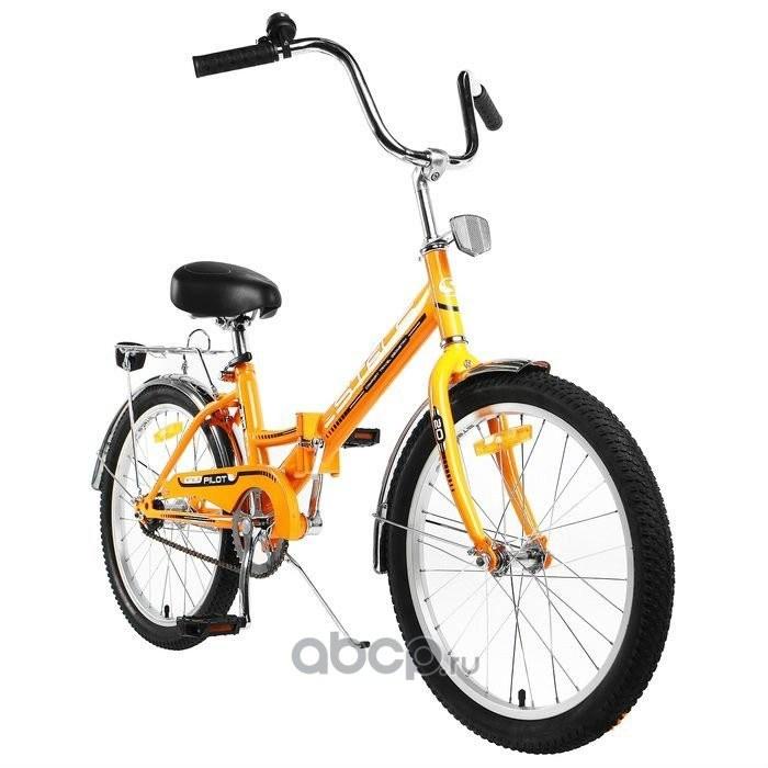 Велосипед 20 складной STELS Pilot 310 (2019) количество скоростей 1 рама сталь 13 оранжевый