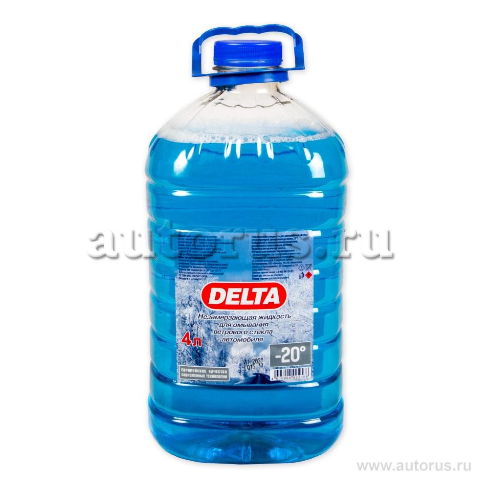 Жидкость омывателя незамерзающая DELTA-NEO ПЭТ готовая -20C 4 л 00-000001551