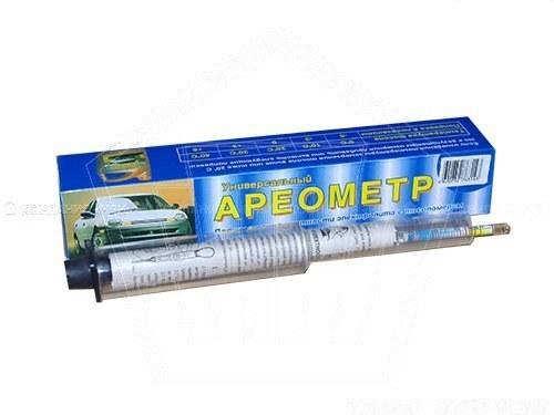 Ареометр для тосола и электролита ТОП АВТО (в бум. коробке с воронкой)