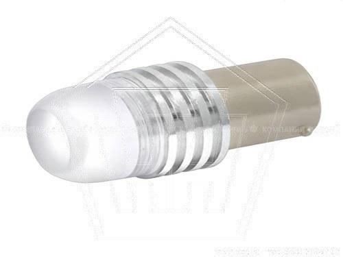 Лампа светодиод 12V S25(P21W) SKYWAY c цоколем,синяя, 1-конт. 1шт., задние