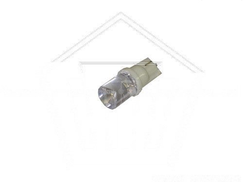 Лампа светодиод 12V Т10 без цоколя ,1диод,белая (указ.поворота)  МАЯК 2.1*9.5d CONE