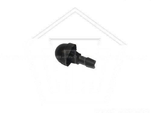 Жиклер омывателя стекла ВАЗ 2101 (1 отверст.) (черный)